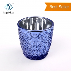 CD019 New Design Top Quality Handmade Amethyst Candle Holder Manufacturer China