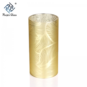 CD045 Large Glass Candle Holders Bulk