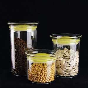 China export storage glass jars wholesale