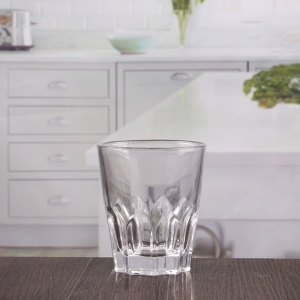 China 270ml etched whiskey glass set wholesale manufacturer