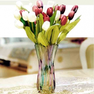 China coloured glass vase exporters and manufacturer