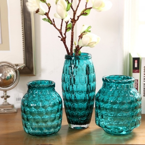 China decor vases manufacturer blue vases for sale small for Cheap decorative items