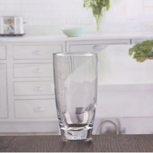 China drinking glass sets manufacturer 350ml round glass cups wholesale