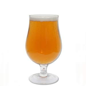 China glass beer steins manufacturer tulip beer glass supplier