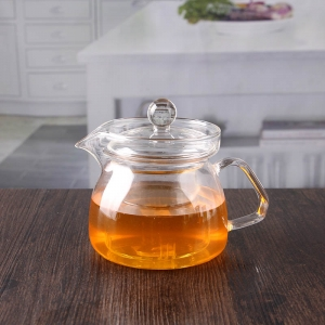 China glass pyrex teapot premium borosilicate glass teapot infuser suppliers