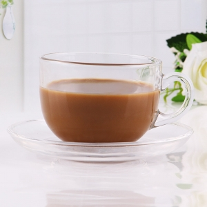 China import glass coffee cup for sale glass coffee mugs with handle and coffee glass cups wholesale