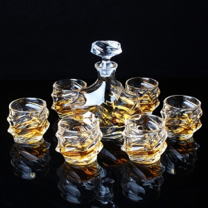 China whiskey glass sets factory,unusual whisky glasses glassware for whiskey supplier