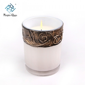 China white metal candle holders, white metal candle holders supplier and factory