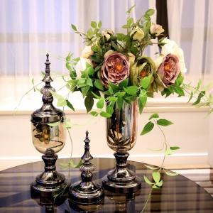 Clear Glass Vase Contemporary Vases Decorative Vase Wholesale