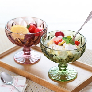 Continental glass ice cream bowls dessert bowl wholesale