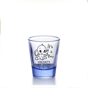 Customized 25ml 50ml  60ml painted shot glass set for sale