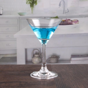 Customized handmade short stem cocktail glasses sets
