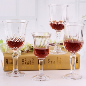 Different types of glasses wholesale drinking tumbler mug wine glass supplier