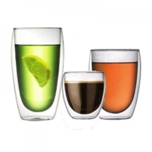 Double wall glass cup,double walled coffee glasses,double wall glass tea tumbler manufacturer