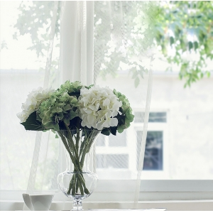 English style decorative glass vases manufacturer