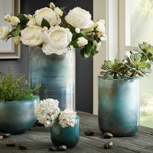 Fashion beautiful glass bowl vases wholesale