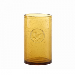 Glass cup manufacturer colored drinking glasses supplier