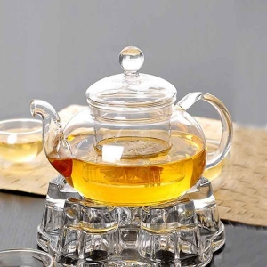 Heat resistant glass teapot set manufacturer and wholesaler
