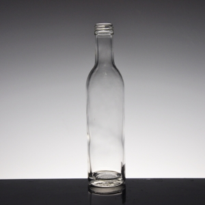 Hot selling decorative glass bottles with low price manufacturer