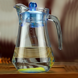Hotel glass soup flower tea kettle wholesale