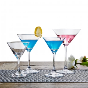 Lead free crystal glass cocktail glass martini glasses wholesale