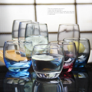 Lead-free heat-resistant glass cups clear glass tea cups suppliers