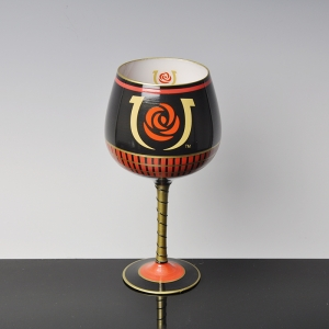 Most popular creative hand painted wine glass cup, diverse styles of hand painted wine glass cup exporters