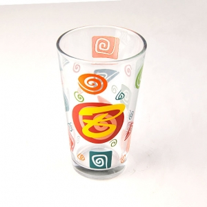 Pretty painting wine glasses drinking cups supplier