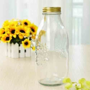 Small glass jug wholesale custom