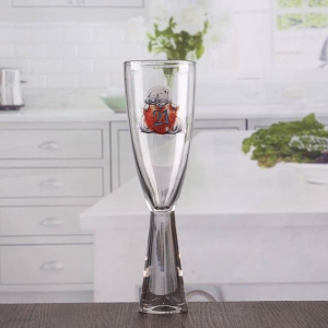 Thick stem fancy champagne glasses cheap funky wine glasses patterned champagne flutes wholesale