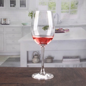 Thin red and white wine glasses crystal glass goblets stemware wholesale
