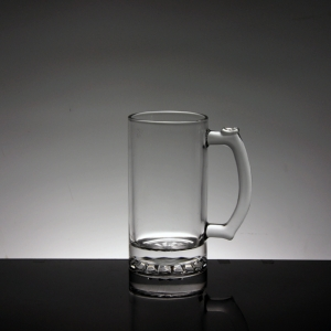 Top quality glass beer mugs,500ml glass mugs manufacturer