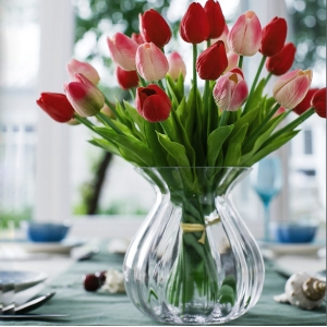 Unique fresh vases glass for wholesale