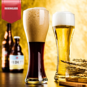 Wheat beer glass manufacturer beer glass cup supplier