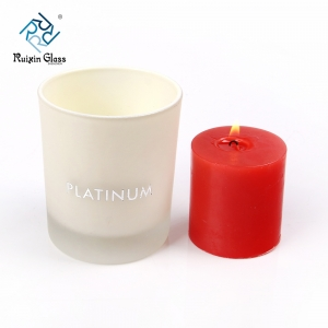 White candle jars, wholesale white candle jars suppliers and white candle jars factory