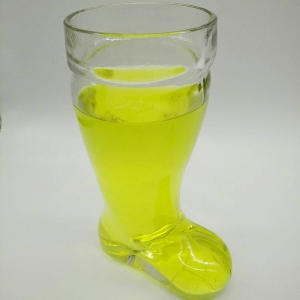 Wholesale custom creative fashion boot shaped beer glass hand made