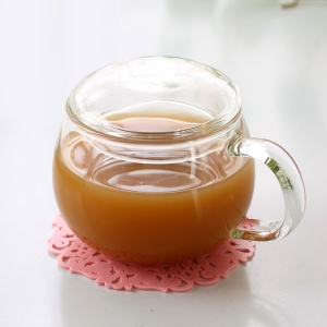Wholesale Glass Coffee Mugs With Lids For Sale
