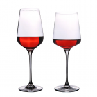 China 08 Wholesale Factory Price Custom Goblet Bohemia Wine Glass Bulk Crystal Wine Glasses factory
