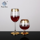 China 10 Customization Gold Rimmed Wine Glasses factory
