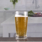 China 12 oz handled beer glasses custom embossed beer glasses assorted beer glasses wholesale factory