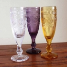 China 2016 new vintage style champagne glasses wholesaler factory