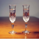 China Banquet using classic crystal champagne glasses supplier factory