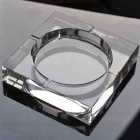 China Best clear glass ashtrays wholesaler factory