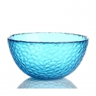 China Blue glass salad mixing bowls wholesale factory