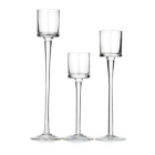 China CD056 Glass Pillar Candle Holders Wholesale factory