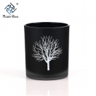 China CD059 Black Candle Jars Wholesale Australia UK factory