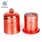 China CD22 Glass Candle Holders Cheap factory
