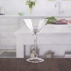 China Cheap 7oz octagon cocktail glass set exporters suppliers factory