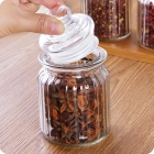 China China glass jars manufacturer glass storage containers wholesale factory