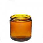 China China amber glass jar hexagonal glass jar supplier factory
